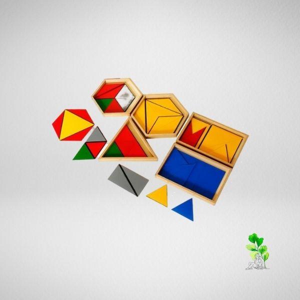 HuntersWoodsPH Checklist Sensorial Montessori Materials Toddler Preschool Constructive Triangles