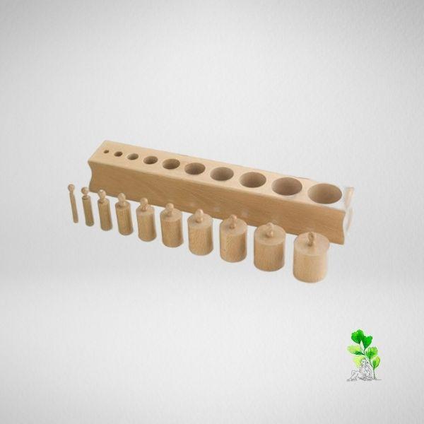 HuntersWoodsPH Checklist Sensorial Montessori Materials Toddler Preschool Cylinder Block 2
