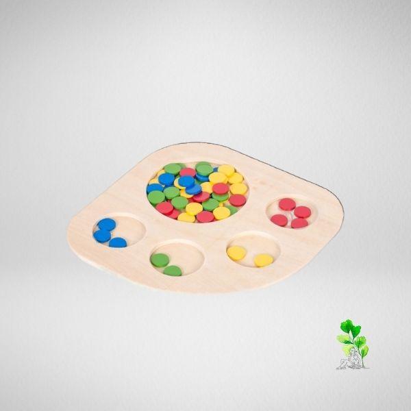 HuntersWoodsPH Checklist Sensorial Montessori Materials Toddler Preschool Sorting Tray