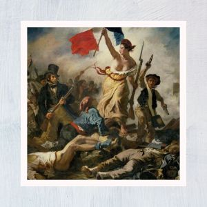 HuntersWoodsPH Montessori Culture Art Paintings Eugene Delacroix Liberty Leading People