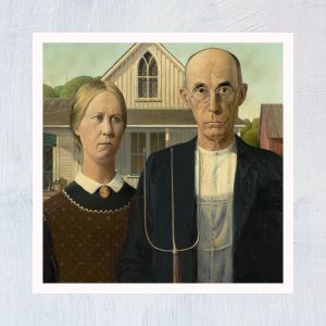 HuntersWoodsPH Montessori Culture Art Paintings Grant Wood American Gothic