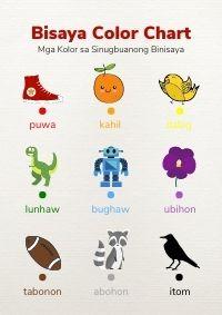 Bisaya Color Chart - HuntersWoodsPH