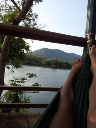View of the Kampot River, Kampot