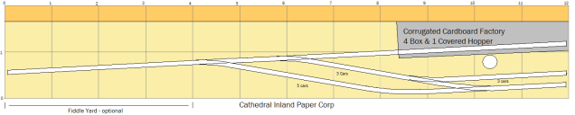 Carrollton West - Cathedral Inland Paper Corp (12' x 2')