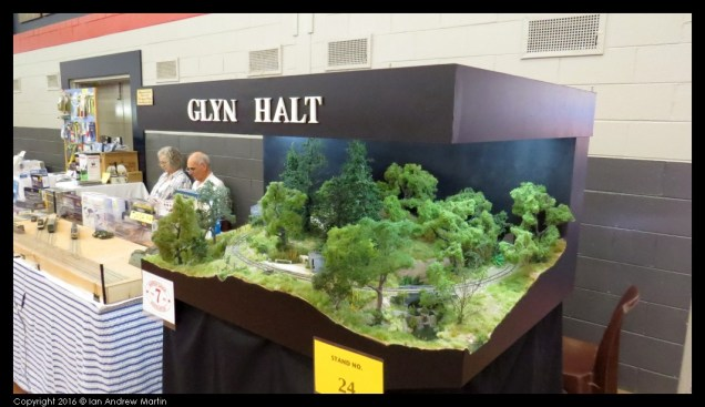 The layout that is Glyn Halt