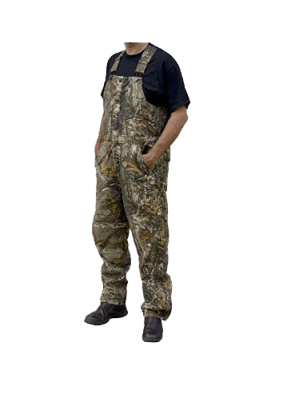 Berne Men's Original Camouflage Insulated Bib