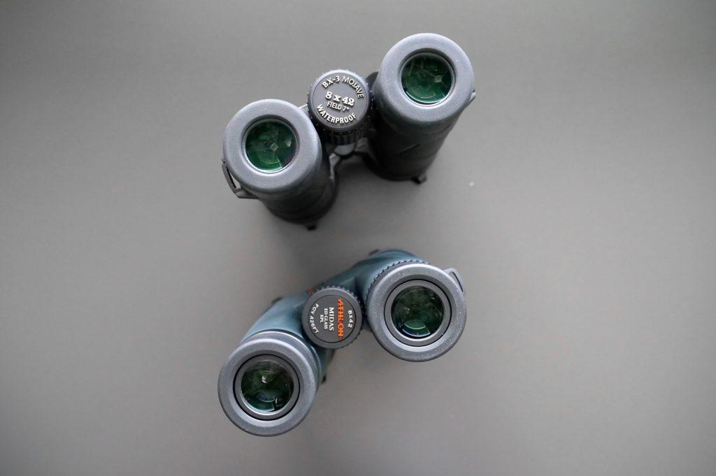 Leupold BX-3 Mojave 8x42 and Athlon Midas 8x42 Eyepiece
