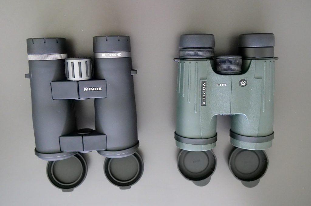 Minox BL 10x44 HD and Vortex Viper HD 10x42 Covers