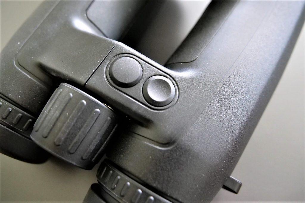 Leica Geovid 10x42 HD-B Range Finding Buttons