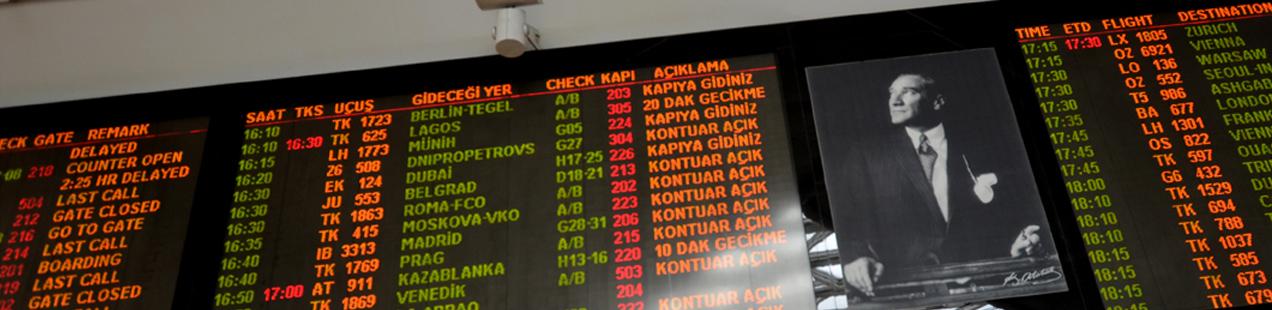 Atatürk Airport Istanbul Turkey
