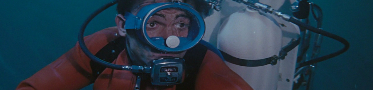 Sean Connery Diving the Bahamas in Thunderball