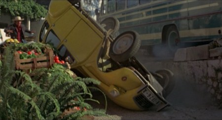 James Bond For Your Eyes Only Citroen Crash