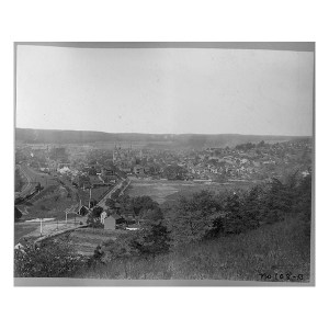 D.09.09 Looking West on Penn St. From Stone Creek Ridge_600