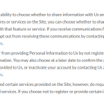 GenealogyBank Opt-Out Policy