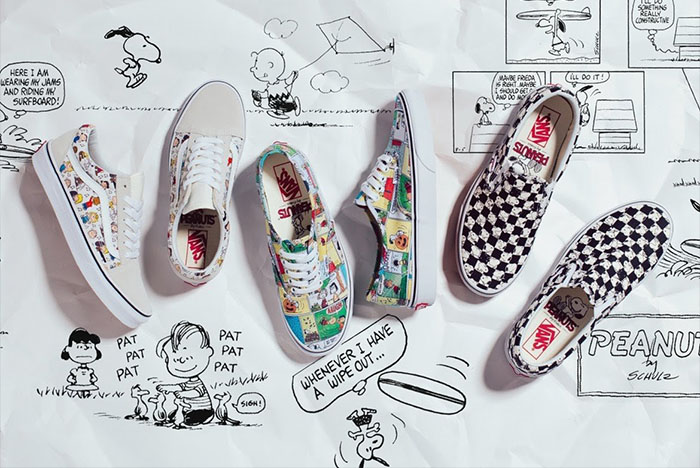 Peanuts x Vans Fall/Winter 2017 Collection