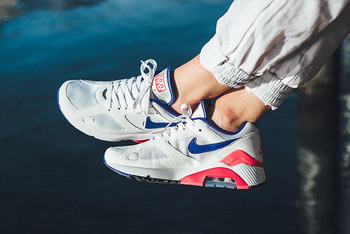 Nike's 2018 Air Max 180 Retro On-Foot
