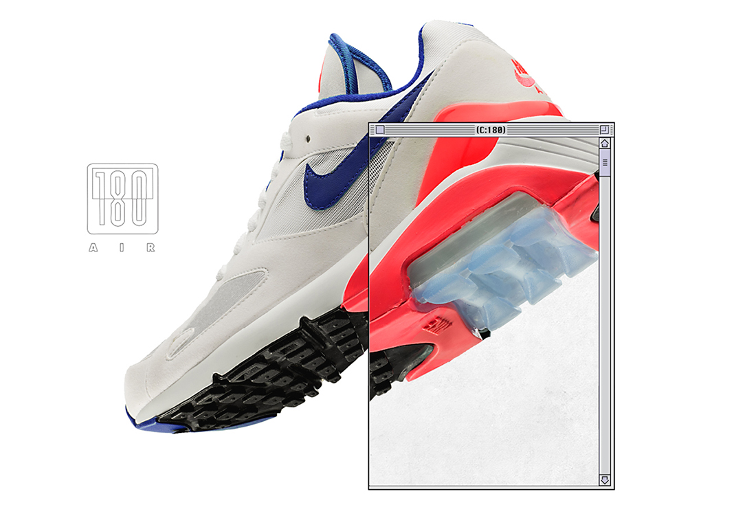 Get To Know The Air Max 180, Nike's Latest Retro HUNTING