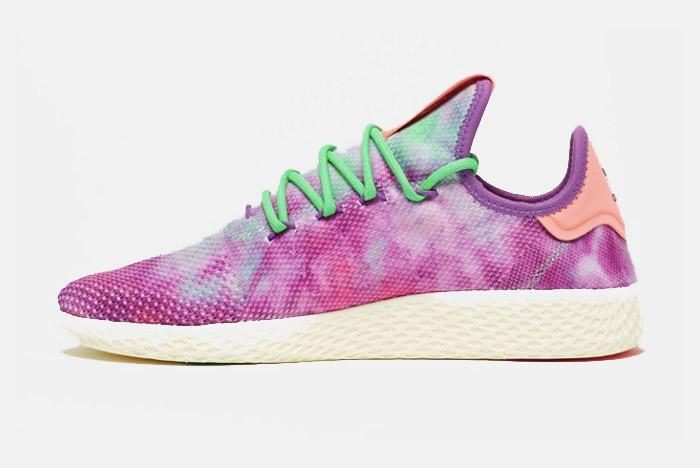 Pharrell x adidas Tennis Hu 'Holi' Pack Drops Next Week