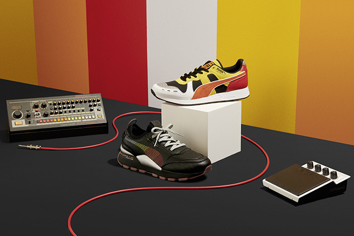 PUMA AND ROLAND COMPLETE THE PACK WITH THE RS-100