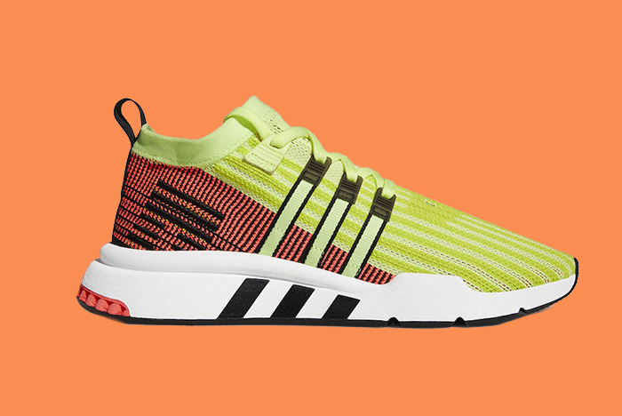 Go with the 'Glow' with adidas' New EQT Support ADV Mid