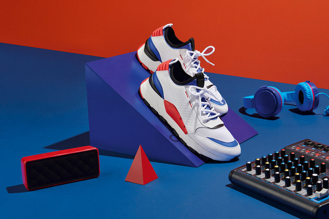PUMA TAKE ON 80'S MUSIC VIBES FOR THE NEW RS-0 SOUND
