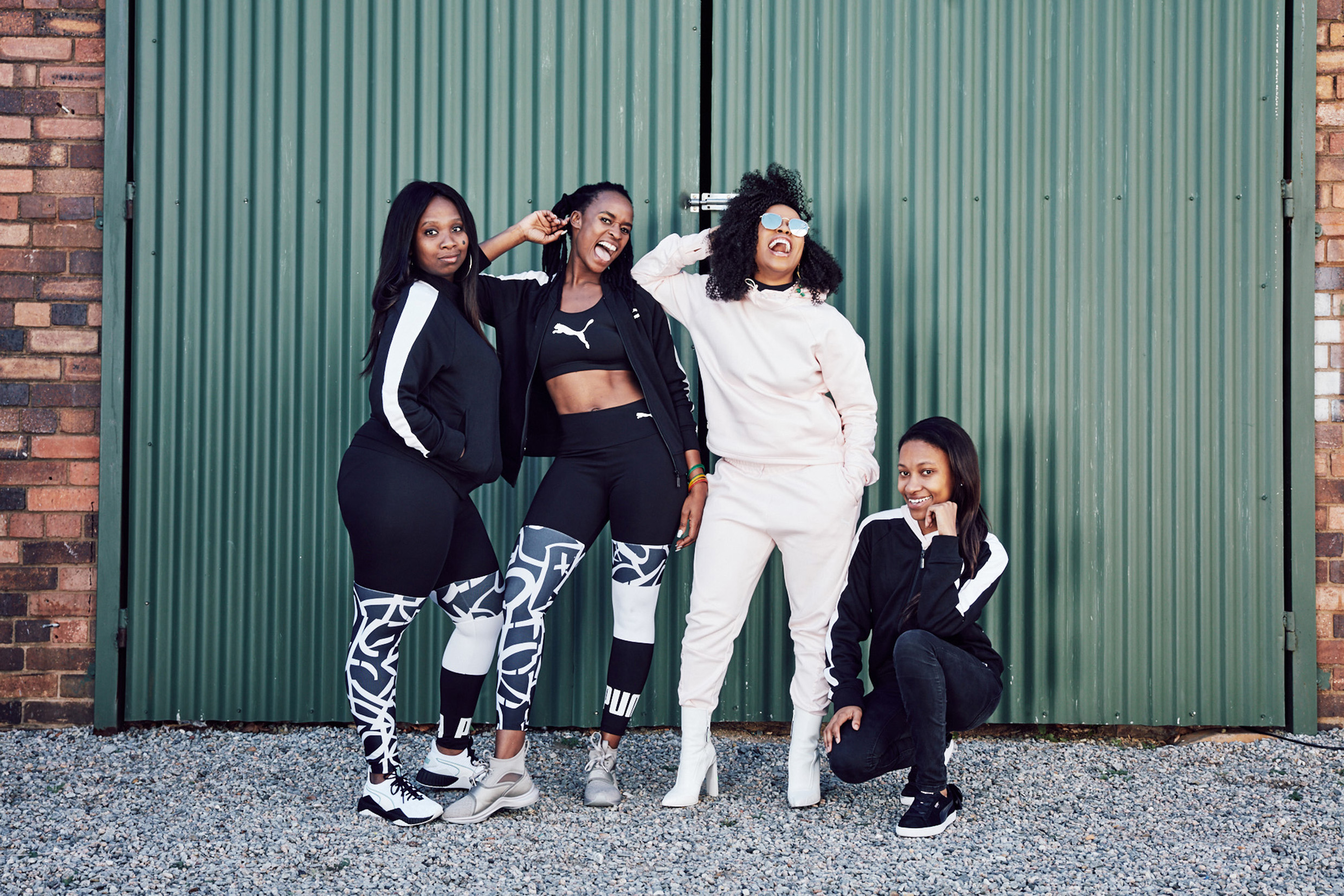 PUMA and Nomzamo Mbatha empower on Women's Day