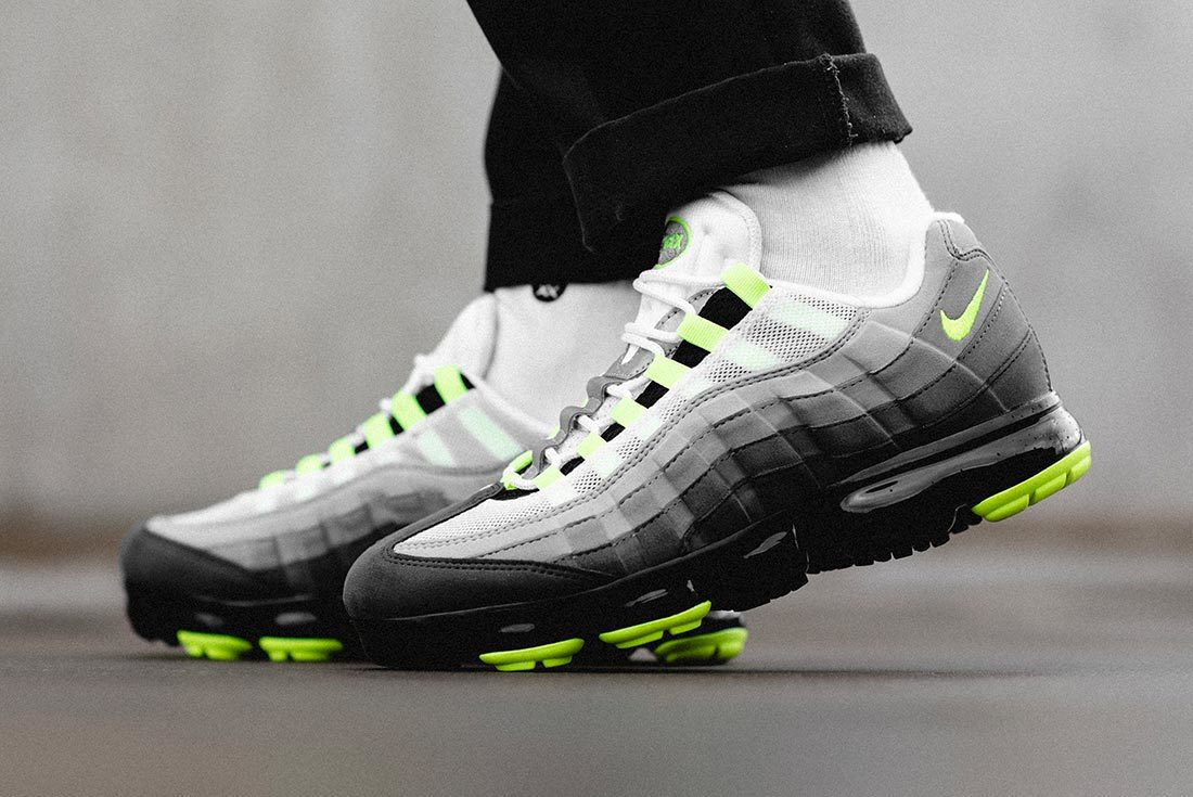 'Neon' Nike Air VaporMax 95s Available Now
