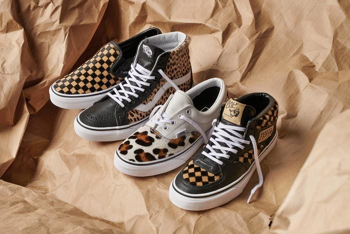 Vans Deliver Animal Print on Classics