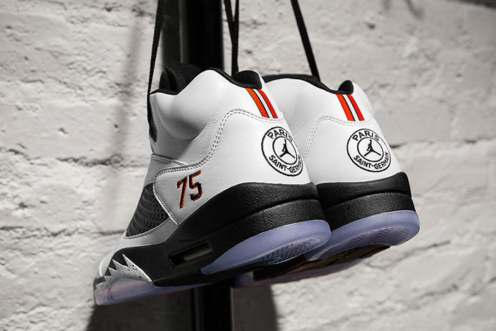 Jordan Brand Shows Off PSG's F&F Air Jordan 5