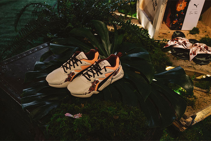 Flowers Bloom on PUMA x Sue Tsai Collection