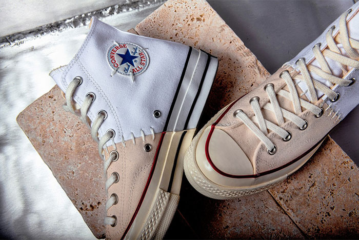 Converse and Slam Jam Create a 'Reconstructed' Chuck 70