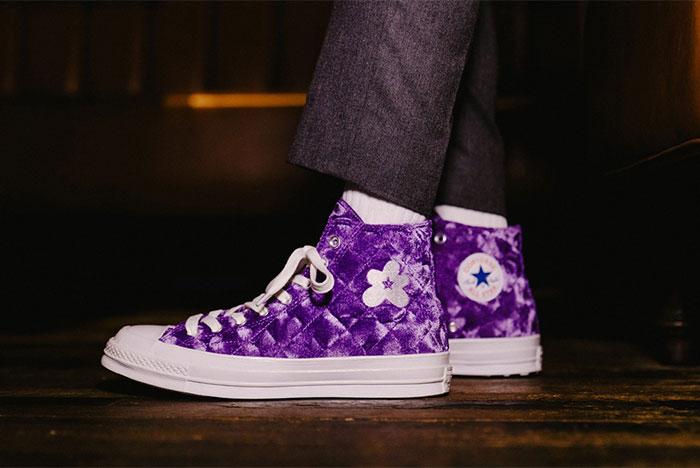 On-Foot Look: GOLF le FLEUR* x Converse