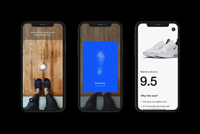 Nike Launch an App That Measures Your Perfect Shoe Size
