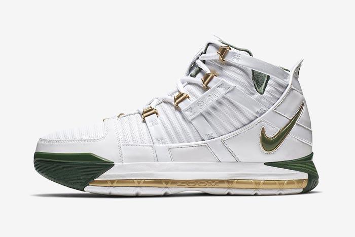 Release Date: Nike Zoom LeBron 3 'SVSM Home'