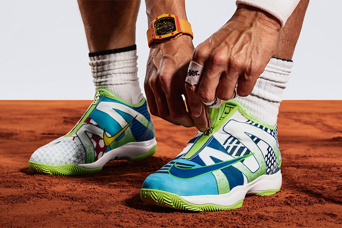 Rafael Nadal gets His Own 'What The' NikeCourt Zoom Cage 3