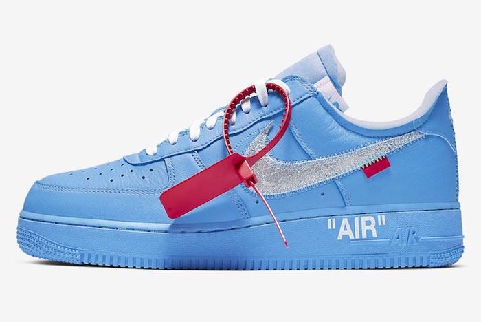 Closer Look! Off-White x Nike Air Force 1 'MCA'