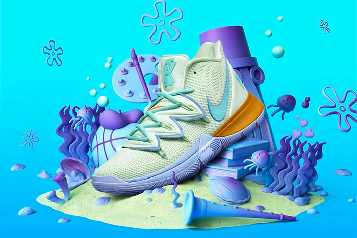 Squidward Tentacles is Getting His Own Nike Kyrie 5!
