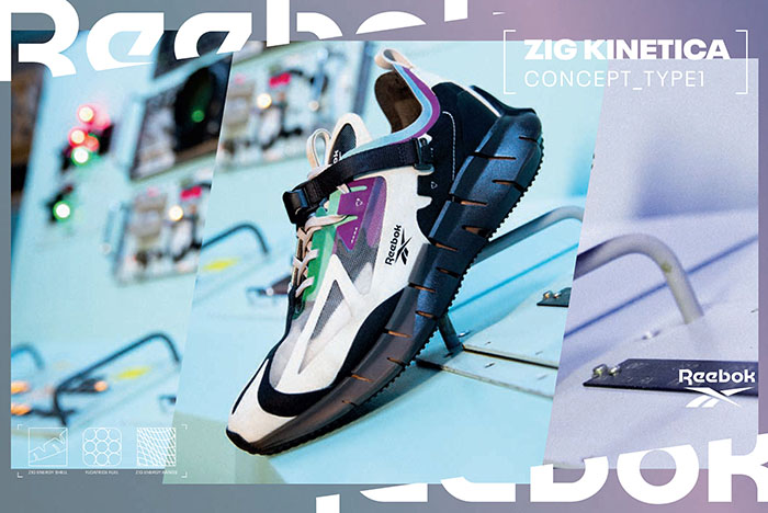 Reebok Debuts Zig Kinetica Cushioning With Concept Type 1 Silhouette