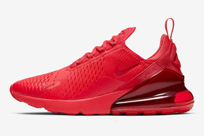 Nike Release the Air Max 270 in 'University Red'