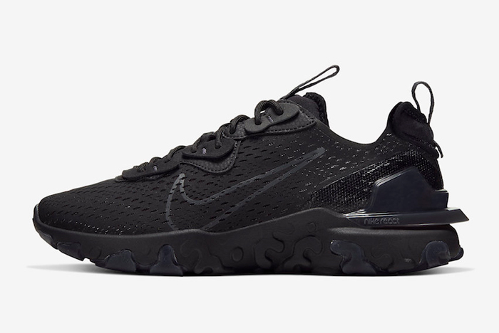 The Nike React Vision D/MS/X Arrives in 'Triple Black'