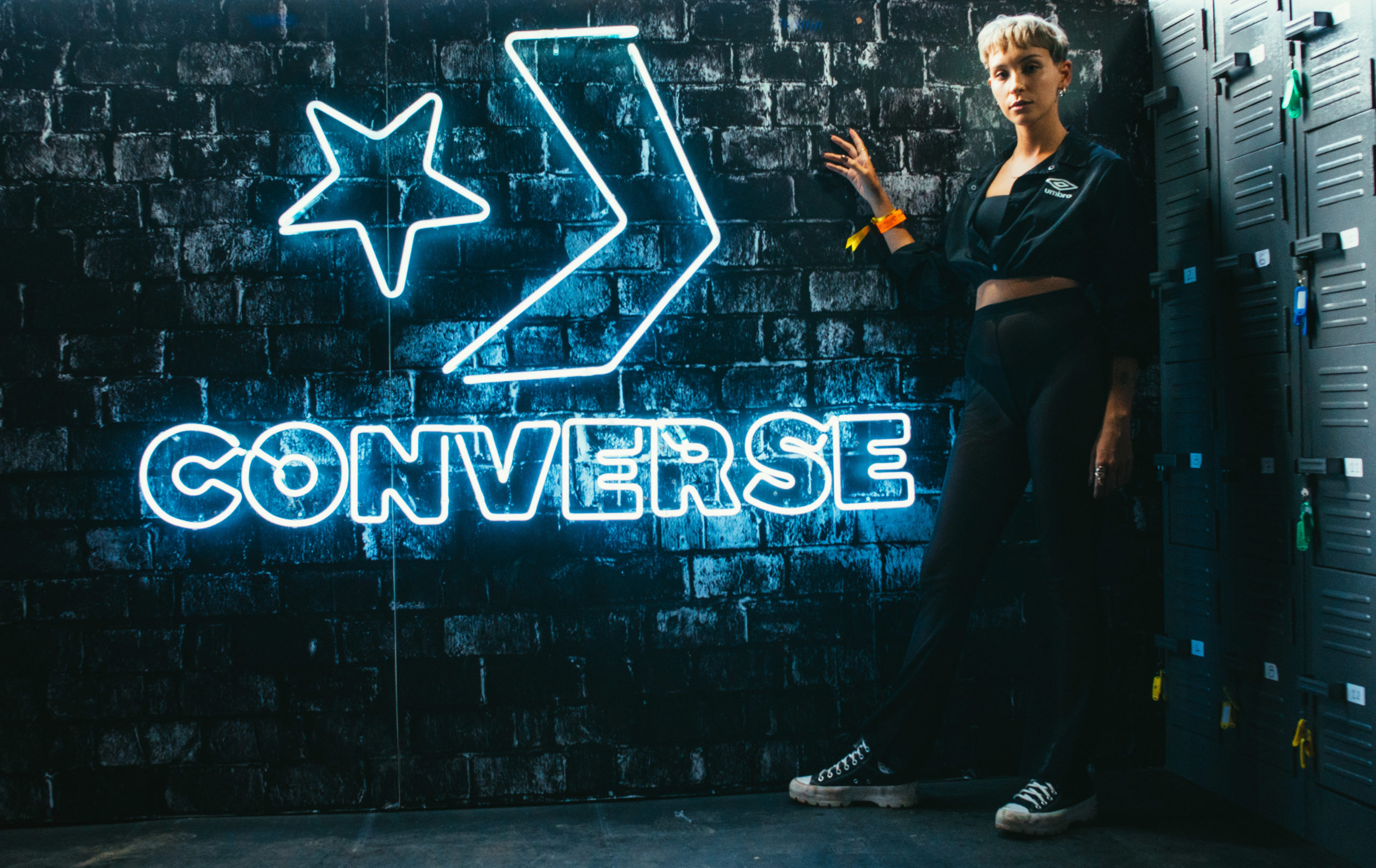 Converse's Activation Station at Cotton Fest