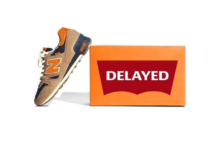Levi's x New Balance 1300 Release DELAYED Until April