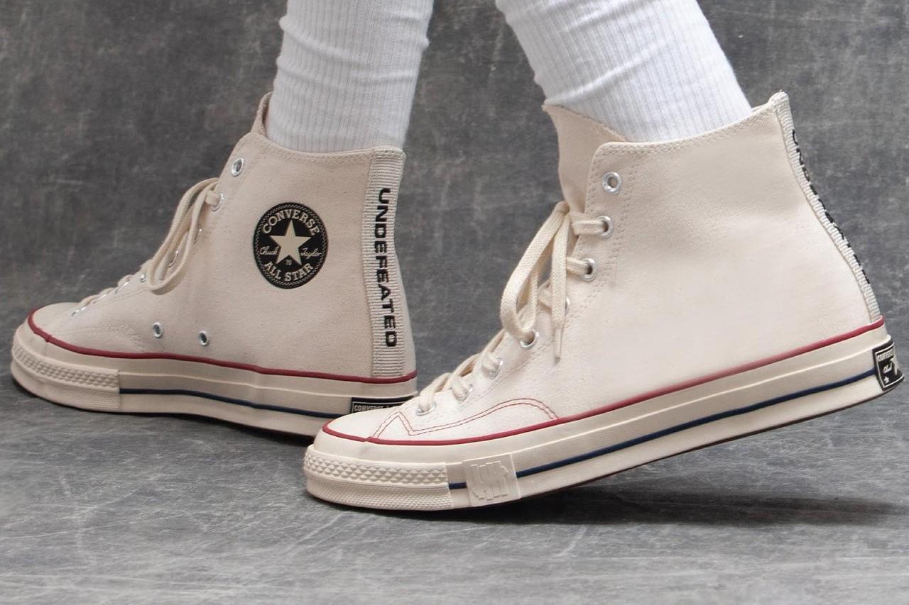 "UNDEFEATED Announces Converse Chuck 70 ""Fundamentals"" Capsule"