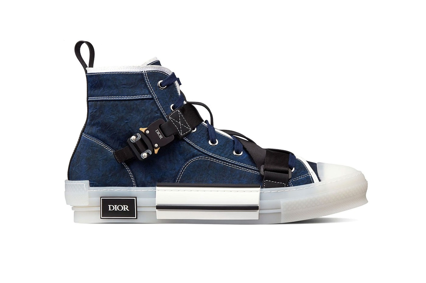 Dior Adds COBRA Buckles to Its B23 Sneaker