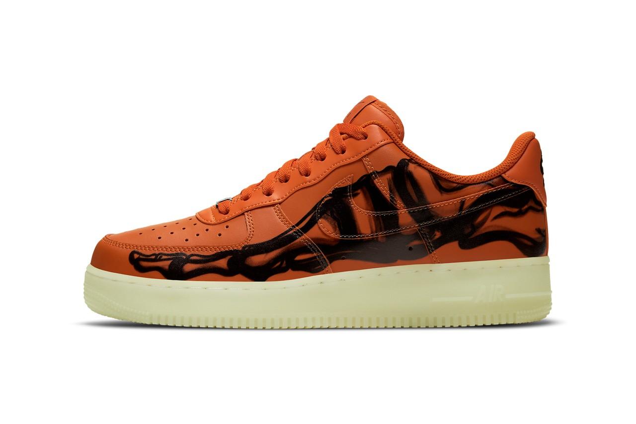 Nike Set To Drop Orange Skeleton Air Force 1 For Halloween