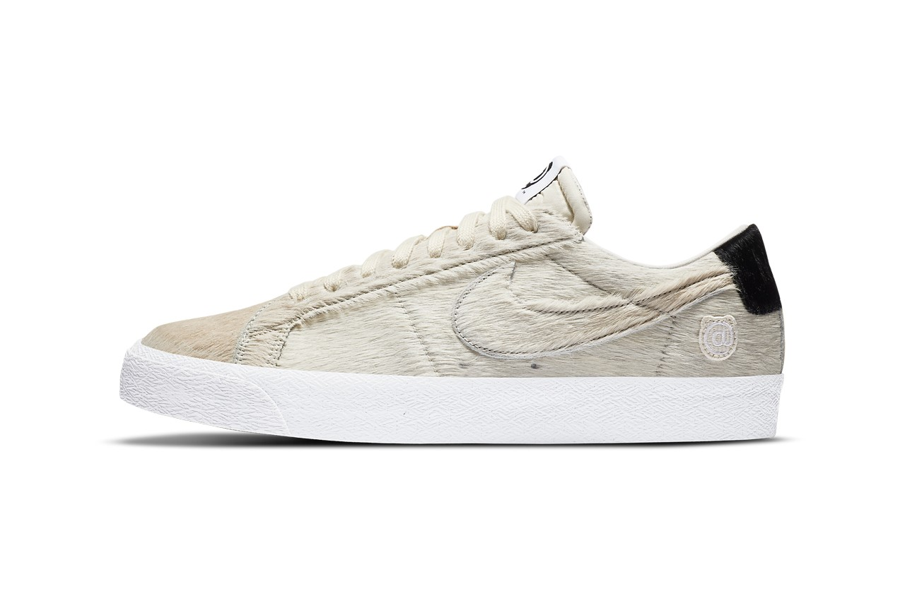Medicom Get Back with Nike SB for Hairy Blazer Low