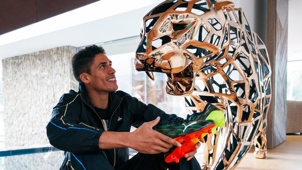 PUMA sign Real Madrid's French World Cup winner Varane