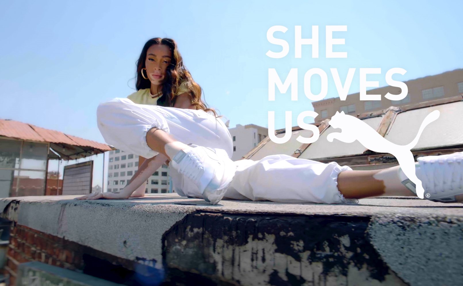 """SHE MOVES US"" – DUA LIPA AND PUMA BRAND AMBASSADORS CELEBRATE WOMEN WHO MOVE THE WORLD"