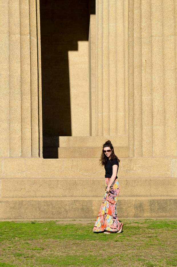 The maxi skirt - the perfect choice for spring