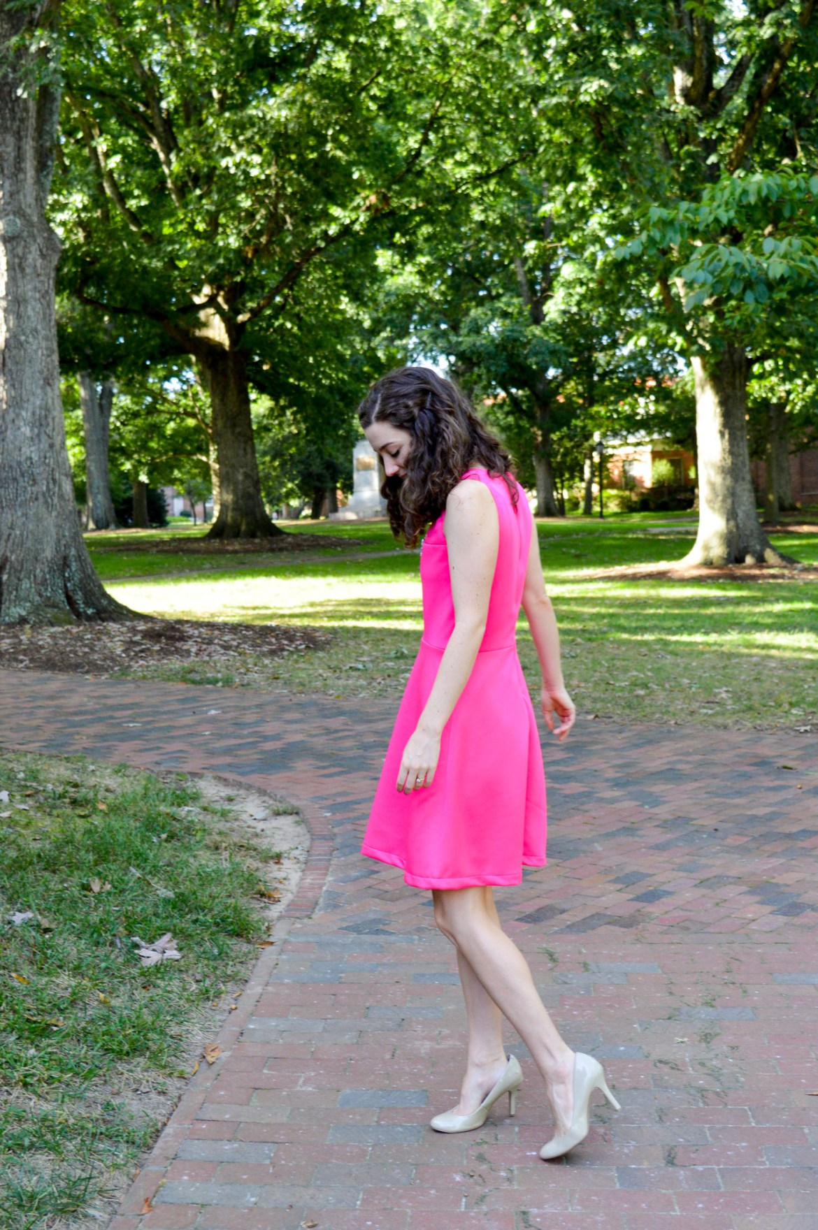 Keep wearing summer dresses into fall \\ just add a light jacket or cardigan